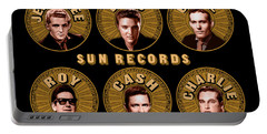 Sun Records Portable Battery Charger