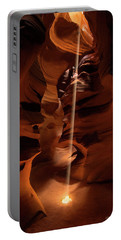 Sunbeam In Upper Antelope Canyon Portable Battery Charger