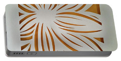 Sunburst Petals Portable Battery Charger
