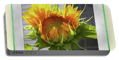 Sunflower Birthday Portable Battery Charger