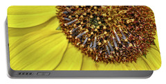 Sunflower Closeup Portable Battery Charger