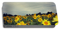 Sunflower Fields Portable Battery Charger