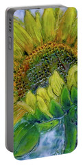 Sunflower Happiness Portable Battery Charger