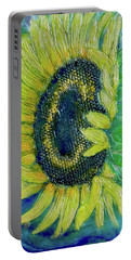 Sunflower Smiles Portable Battery Charger