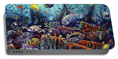 Sunken Tiki Reef Portable Battery Charger