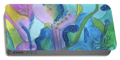 Sunny Day Abstract Portable Battery Charger