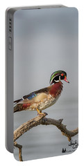 Sunny Day Wood Duck Portable Battery Charger