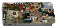 Sunny Morning In Venice Portable Battery Charger