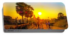 Sunrise At Angkor Wat, Cambodia Portable Battery Charger