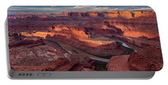 Sunrise At Dead Horse Point State Park Portable Battery Charger