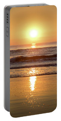 Sunrise At Surfers Paradise Portable Battery Charger