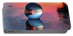 Sunrise At The Beach Portable Battery Charger