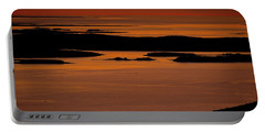 Portable Battery Charger featuring the photograph Sunrise Cadillac Mountain by Tom Gresham