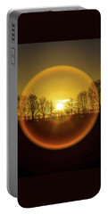 Sunrise. New Years Eve. Portable Battery Charger