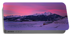 Sunrise On Lake Dillon Portable Battery Charger