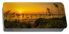 Sunrise On The Dunes  Portable Battery Charger