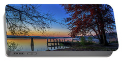 Sunrise On The Patuxent Portable Battery Charger