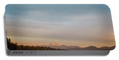 Sunrise On Westshore Lassen Peak Portable Battery Charger