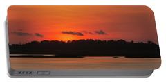 Sunrise Over Drunken Jack Island Portable Battery Charger