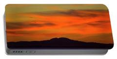 Sunrise Over Santa Monica Bay Portable Battery Charger