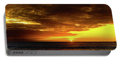 Sunset And Surf Portable Battery Charger