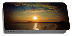 Portable Battery Charger featuring the photograph Sunset Artistry by Milena Ilieva