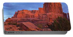 Sunset At Arches Portable Battery Charger