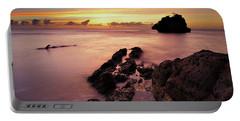 Sunset At Columbus Bay Portable Battery Charger