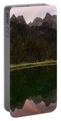Portable Battery Charger featuring the photograph Sunset At Ibonet De Batisielles by Stephen Taylor
