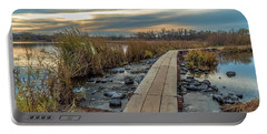 Sunset At Purgatory Creek Portable Battery Charger