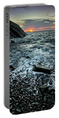 Sunset At Quarry Bay, Port Logan Portable Battery Charger
