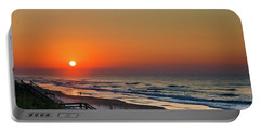 Sunset At Surf City Nc Portable Battery Charger