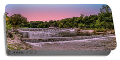 Sunset At The Falls Portable Battery Charger