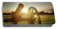 Portable Battery Charger featuring the photograph Sunset Canon by Travis Rogers