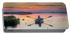 Sunset  Crossing Portable Battery Charger