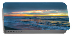 Sunset Fire Over Catalina Island 2 Portable Battery Charger