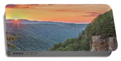 Sunset Flare Portable Battery Charger