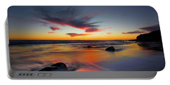 Sunset In Malibu Portable Battery Charger