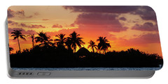 Sunset In The Florida Keys Portable Battery Charger