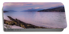 Sunset In Ushuaia Portable Battery Charger