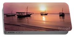 Sunset In Zanzibar Portable Battery Charger