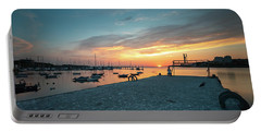 Sunset Looker Portable Battery Charger