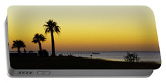 Sunset On Copano Bay, Texas Portable Battery Charger