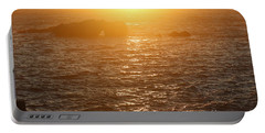 Sunset On The Coast Portable Battery Charger