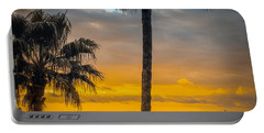 Sunset On The Island Portable Battery Charger