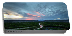 Sunset On The Rio Grande Portable Battery Charger
