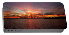Sunset Over Canada Portable Battery Charger