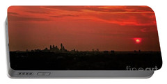 Sunset Over Philly Portable Battery Charger