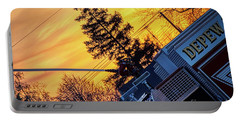 Sunset Streams Portable Battery Charger