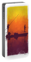 Sunset Summer Blues Portable Battery Charger